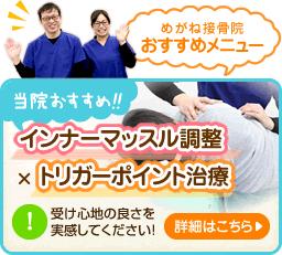 インナーマッスル調整×トリガーポイント治療