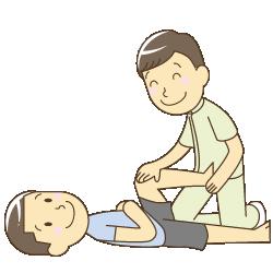 坂戸市めがね接骨院:インナーマッスル調整のイラスト